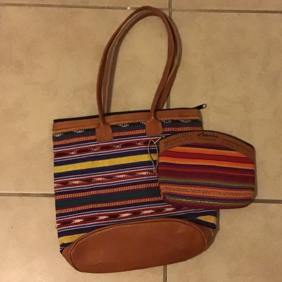 Nicaraguan Purse with Side Clutch